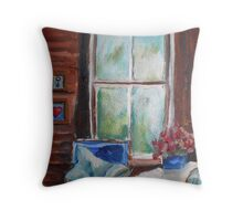 525 Painting by Gerda Smit Throw Pillow