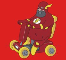Fat Flash Super Hero by eZonkey