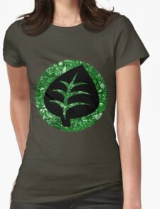 Grass Energy Womens Fitted T-Shirt