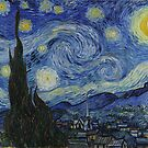 Starry night of Van Gogh by nadil