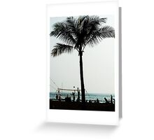 Beach Volleyballers Greeting Card