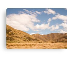 Lindis Valley, New Zealand Canvas Print