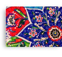 turkish tiles Canvas Print