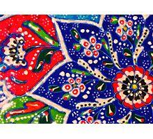 turkish tiles Photographic Print
