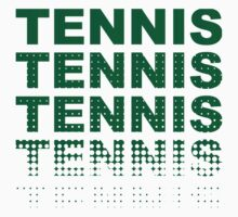 Green Tennis Tennis by superbog