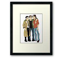 Three Best Friends  Framed Print