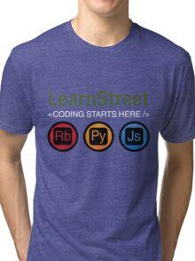 Coding Starts Here Tri-blend T-Shirt