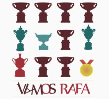 Vamos Rafa Grand Slam Trophy by superbog
