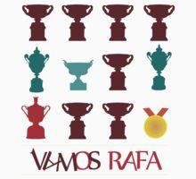 Vamos Rafa Grand Slam Trophy by superbog