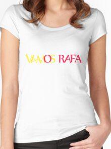 Vamos Rafa Women's Fitted Scoop T-Shirt