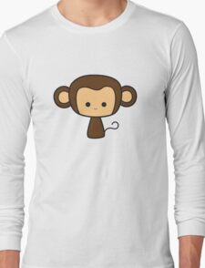 Happy Monkey Long Sleeve T-Shirt