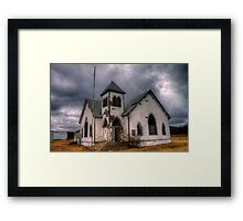 First Methodist Church, Jermyn, Texas Framed Print