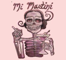Day of the Dead Mi Martini by Heather Calderon