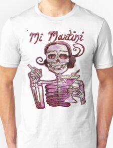 Day of the Dead Mi Martini T-Shirt
