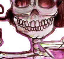 Day of the Dead Mi Martini Sticker