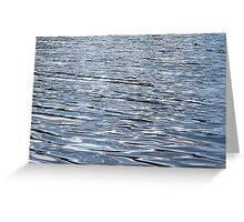 Ripples of Water Greeting Card