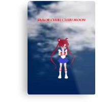 Sailor Chibi Chibi Moon Metal Print
