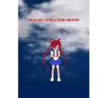 Sailor Chibi Chibi Moon Photographic Print