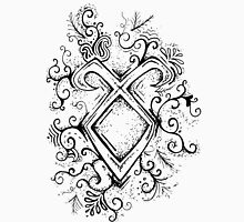 Angelic Rune Mandala Unisex T-Shirt