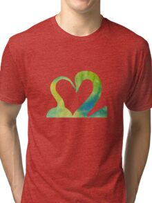Hook and Swan 2.0 Tri-blend T-Shirt