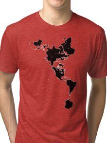 Dymaxion Tri-blend T-Shirt