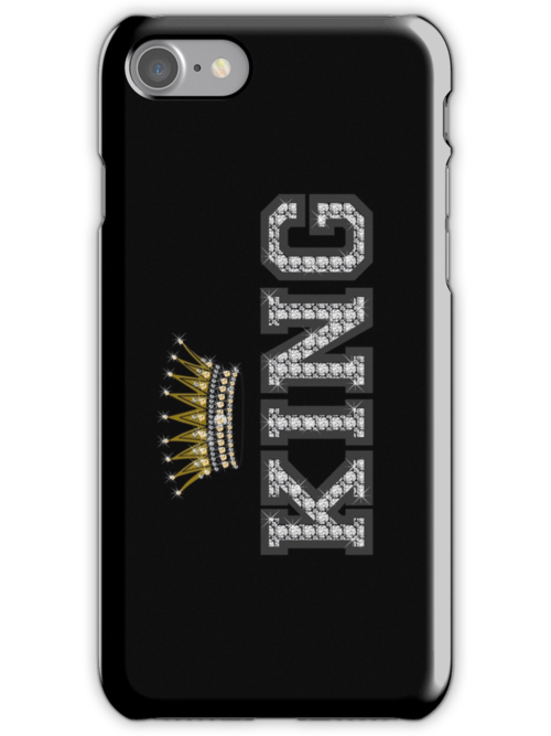 King Crown iPhone / iPod cases design Version 3 by derickyeoh