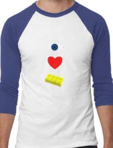 blocks Men's Baseball ¾ T-Shirt