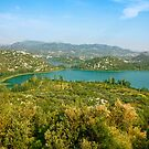 The Bacina Lakes panoramic view by kirilart