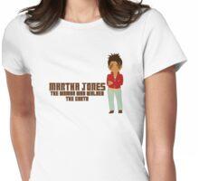 Martha Jones Womens Fitted T-Shirt