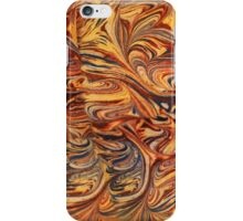 marbled paper - carnival splash iPhone Case/Skin