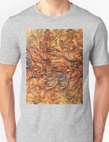 marbled paper - carnival splash T-Shirt