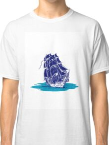 Ship safe sailing in T-shirts, stickers and iPhone/iPod cases  Classic T-Shirt