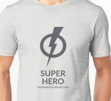 """Super"" Hero Logo - Light Background Unisex T-Shirt"