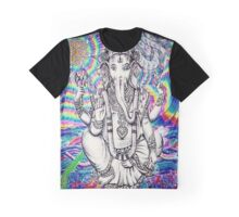 Trippy Ganesh Graphic T-Shirt