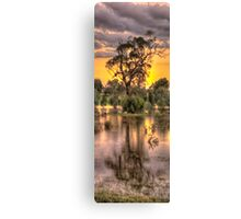 Reflections - Junee, NSW - The HDR Experience Canvas Print