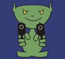 Alien Gunman by vivendulies