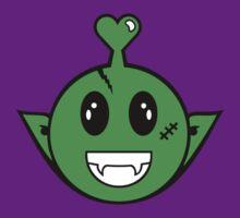 Alien Smiley by vivendulies