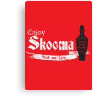 Enjoy Skooma Canvas Print