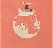 Minimalist BB8 by Kippster