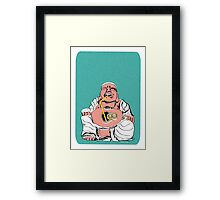 Inspiration from Within (Blue) Framed Print