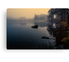 Foggy Blea Tarn Canvas Print