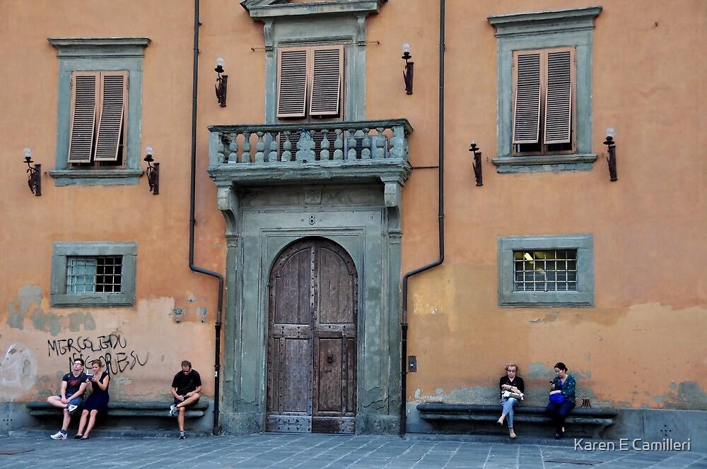 five windows by Karen E Camilleri