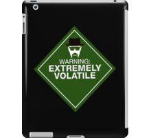 Warning: Extremely Volatile iPad Case/Skin