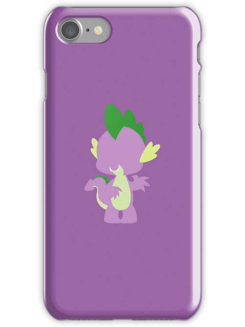 Simple Spike iPhone Case by TehCrimzonColt