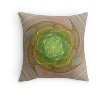 Spinning Foci Throw Pillow