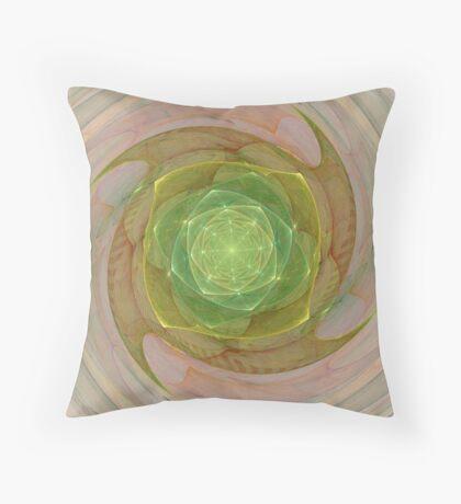 Spinning Foci Throw Pillow