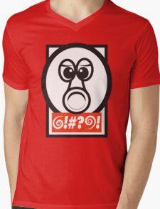 QBEY! Mens V-Neck T-Shirt
