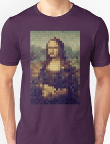 8-bit Mona Lisa Pixel Art Unisex T-Shirt