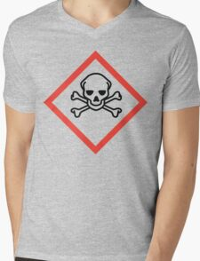 Danger! Mens V-Neck T-Shirt