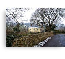 Down Our Lane 2013-01-19 Canvas Print